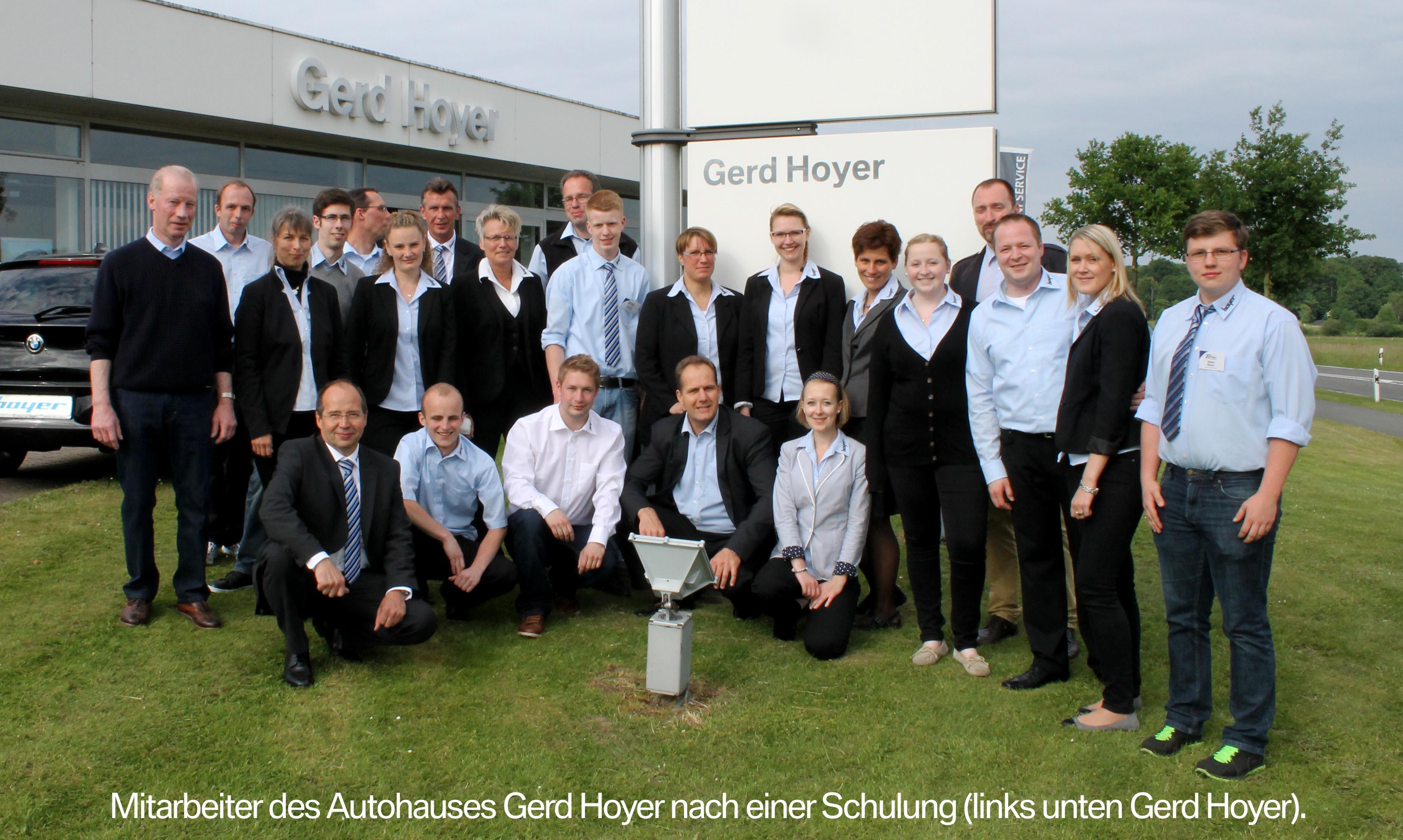 Autohaus Gerd Hoyer seit 30 Jahren im Walsroder Gewerbegebiet