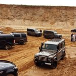 Land Rover drehen voll auf