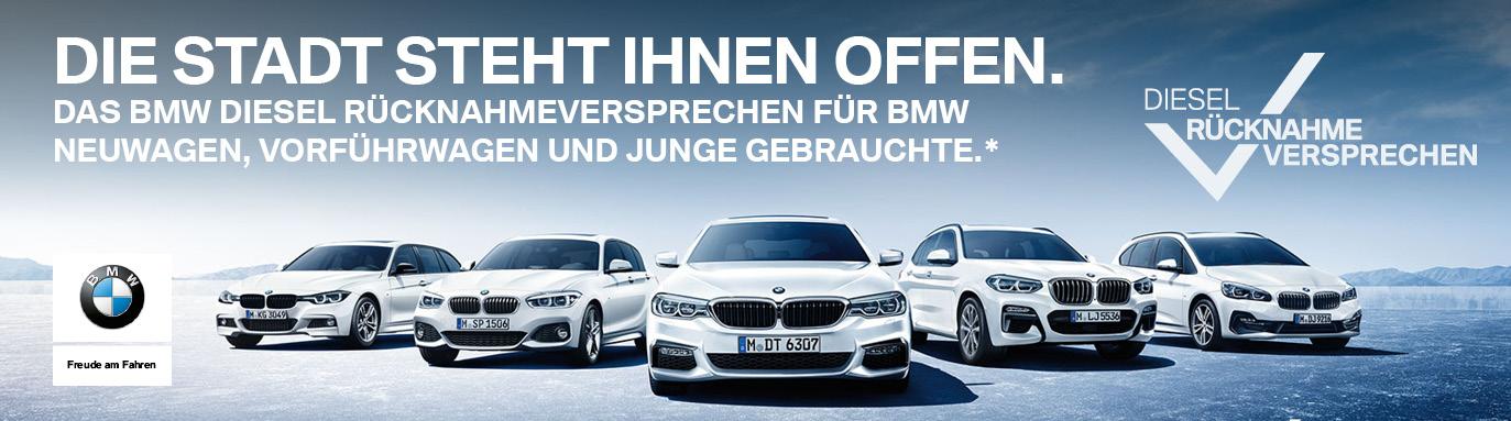 Das BMW Diesel Rücknahmeversprechen.