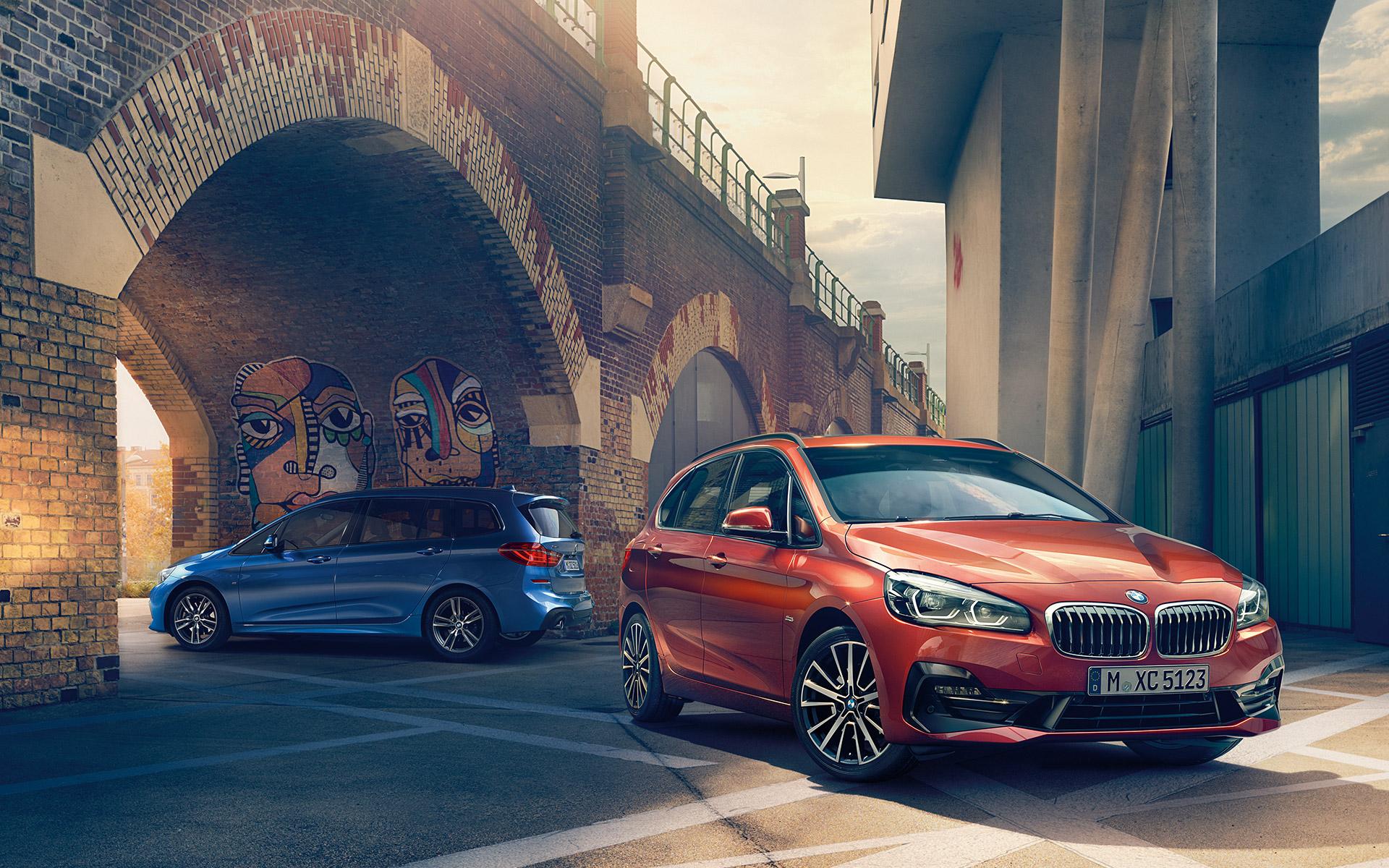 Der neue BMW 2er Active und Gran Tourer.