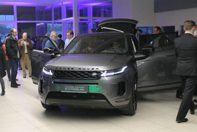 Preview Party des neuen Range Rover Evoque.