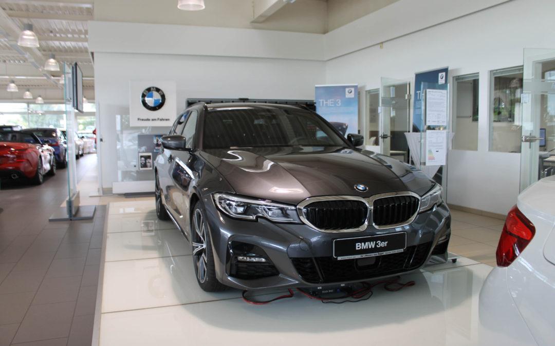 Doppelpremiere bei Hoyer: Der neue BMW 1er und der BMW 3er Touring