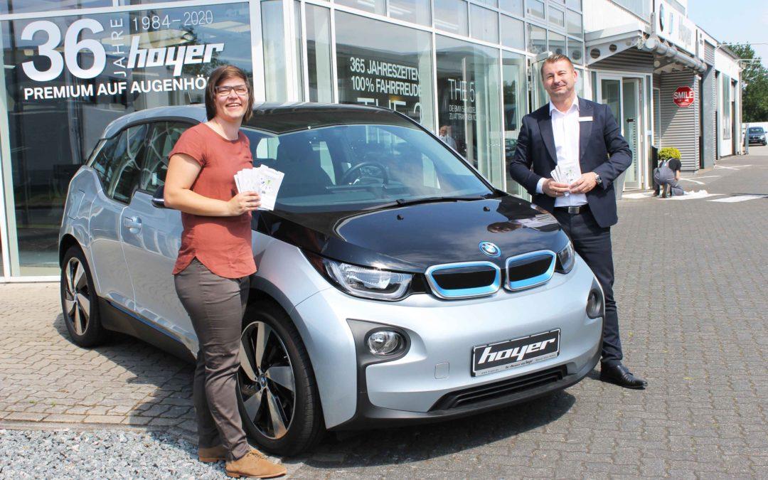 Autohaus Hoyer jetzt Mitglied der Klimaschutzagentur Mittelweser.